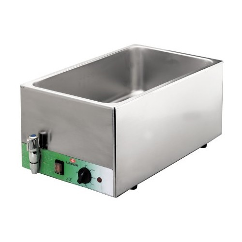 Lacor 69036 Μπαίν Μαρί Ηλεκτρικό GN 1/1 150mm (Διαστάσεις: 350x530x250mm) επαγγελματικός εξοπλισμός   φούρνοι μικροκύματα κρεπιέρες βαφλιέρες φριτέζες  επ