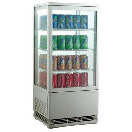RT-78L White Επιτραπέζιο Επαγγελματικό Ψυγείο Βιτρίνα 78Lit Χρώμα: Λευκό - (ΜxΠx επαγγελματικός εξοπλισμός   επαγγελματικά ψυγεία   όλα τα ψυγεία αναψυκτικών  επ
