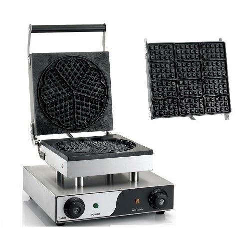 WM15 Βαφλιέρα Συσκευή για Βάφλες Μονή προσφορές   επαγγελματικός εξοπλισμός  επαγγελματικός εξοπλισμός   φούρνοι   μικ