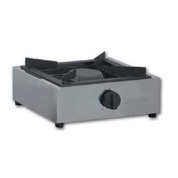TIGPLNX07 Επαγγελματική Εστία Υγραερίου Μονή Επιτραπέζια - 400x400x200mm επαγγελματικός εξοπλισμός   φούρνοι μικροκύματα κρεπιέρες βαφλιέρες φριτέζες   ε