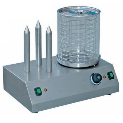 HD-TW Μηχανή για Hot Dog Ανοξείδωτη με 3 Σουβλιά & 1 Κανάτα επαγγελματικός εξοπλισμός   φούρνοι μικροκύματα κρεπιέρες βαφλιέρες φριτέζες   σ