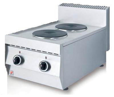 NORTH F22 Ηλεκτρική Επιτραπέζια Κουζίνα - 405x700x460mm επαγγελματικός εξοπλισμός   κουζίνες πλατό φριτέζες βραστήρες   north pro gas  ε