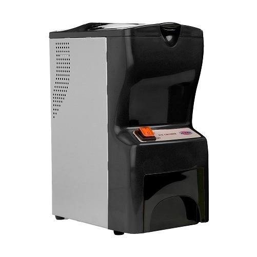 JOHNY AK/14 ECO Παγοθραύστης Μαύρος 120Watt (Παραγωγή: 40kg/h max) επαγγελματικός εξοπλισμός   μηχανές καφέ   συσκευές για bar   παγοθραύστες