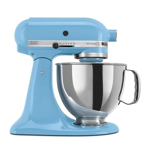 KitchenAid 5KSM150PSECL Οικιακό Μίξερ Ζαχαροπλαστικής Μπλέ Κρυστάλλινο με Δίσκο  επαγγελματικός εξοπλισμός   kitchenaid  επαγγελματικός εξοπλισμός   kitchenaid