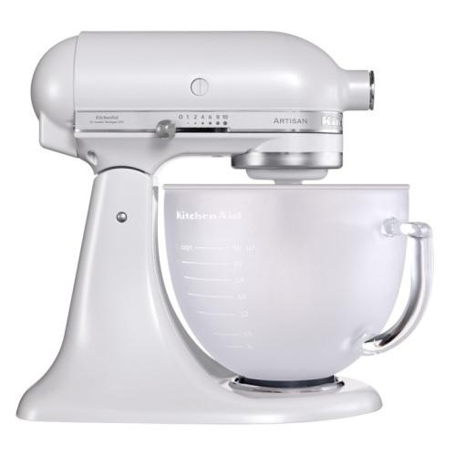 KitchenAid 5KSM156EFP Οικιακό Μίξερ Ζαχαροπλαστικής Περλέ Ημιδιαφανές με Γυάλινο επαγγελματικός εξοπλισμός   kitchenaid  επαγγελματικός εξοπλισμός   συσκευές επε