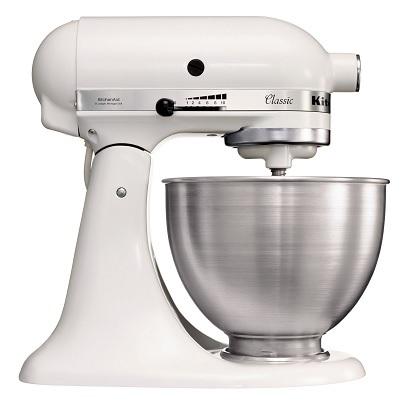 KitchenAid 5K45SSEWH Οικιακό Μίξερ Ζαχαροπλαστικής Λευκό 250Watt - 4,28Lit επαγγελματικός εξοπλισμός   kitchenaid  επαγγελματικός εξοπλισμός   kitchenaid