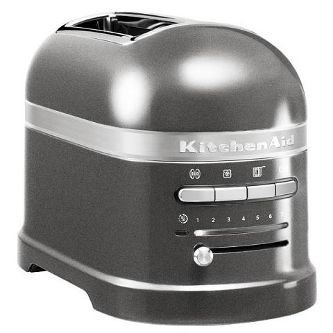 KitchenAid Artisan 5KMT2204MS Φρυγανιέρα Ασημένιο Λαμπερό 2 Θέσεων  1250Watt Υπο επαγγελματικός εξοπλισμός  kitchenaid 5kmt2204 φρυγανιέρα 2 θέσεων φούρνοι μικρο