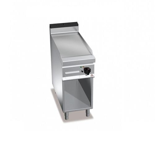 BERTOS G9FL4M/CR Επιδαπέδιο Πλατό Αερίου Με Λεία Χρωμιωμένη Πλάκα & Μία Ζώνη Ψησ επαγγελματικός εξοπλισμός   κουζίνες πλατό φριτέζες βραστήρες   bertos  επαγγελμ