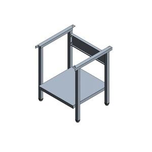 Omniwash Ανοξείδωτη Βάση για Πλυντήριο με Καλάθι 400x400mm - 475x450x570mm επαγγελματικός εξοπλισμός   πλυντήρια επαγγελματικά   ανοξείδωτες βάσεις πλυντηρ
