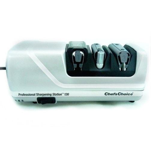 Chefs Choice 130 Ακονιστήρι Μαχαιριών Ηλεκτρικό 75Watt (3 Σταδίων) - 255x100x100 black week προσφορές   ακονιστήρια μαχαιριών  επαγγελματικός εξοπλισμός   συσκευ