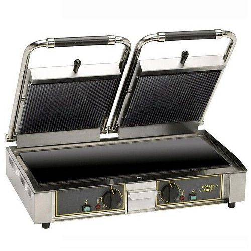 ROLLER GRILL MAJESTIC VCR Τοστιέρα Διπλή Κεραμική Μονή Άνω Ραβδωτή - Κάτω Λεία επαγγελματικός εξοπλισμός   φούρνοι μικροκύματα κρεπιέρες βαφλιέρες φριτέζες  επ