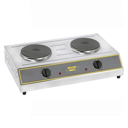 ROLLER GRILL ELR4 Εστία Διπλή Ηλεκτρική Ø230mm black week προσφορές   εστίες ηλεκτρικές  επαγγελματικός εξοπλισμός   κουζίνες π
