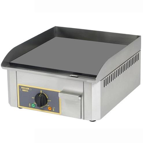 ROLLER GRILL PSR400E Πλατό Ψησίματος Ηλεκτρικό - Διαστάσεις Πλάκας: 400x400mm black week προσφορές   εστία πλατό  επαγγελματικός εξοπλισμός   κουζίνες πλατό φ