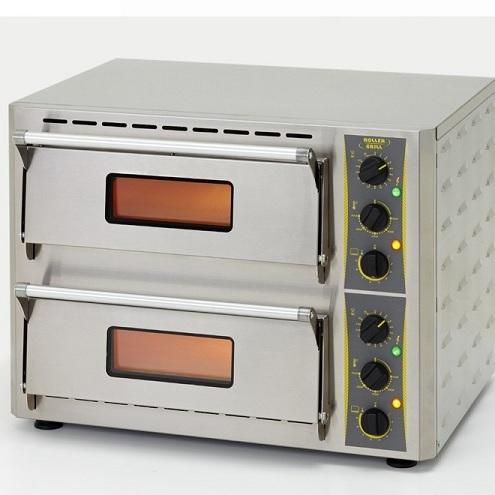 ROLLER GRILL PZ430D Φούρνος Πίτσας Ηλεκτρικός Με Πυρότουβλα - Εσωτ.Διαστάσεις: 2 black week προσφορές   φούρνοι πίτσας  επαγγελματικός εξοπλισμός   φούρνοι μικρο
