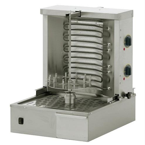 ROLLER GRILL GR40E Γύρος - Γυριέρα Ηλεκτρικός Για 15Kg Κρέας - 580x660x695mm black week προσφορές   γυριέρες  επαγγελματικός εξοπλισμός   γυριέρες κοτοπουλιέ