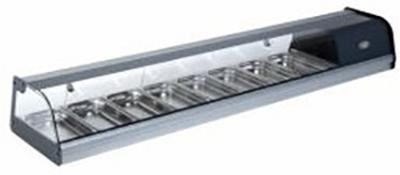 ROLLER GRILL TPR80 Ψυχόμενη Επιτραπέζια Βιτρίνα - Χωρητικότητα: 8 GN 1/3 black week προσφορές   βιτρίνες ψυχόμενες  επαγγελματικός εξοπλισμός   επαγγελμα