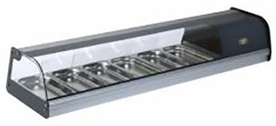 ROLLER GRILL TPR60 Ψυχόμενη Επιτραπέζια Βιτρίνα - Χωρητικότητα: 6 GN 1/3 black week προσφορές   βιτρίνες ψυχόμενες  επαγγελματικός εξοπλισμός   επαγγελμα
