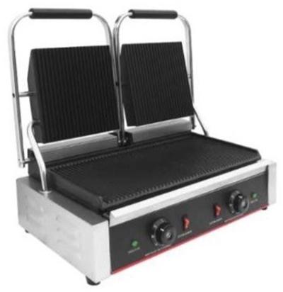 ItalStar 050.0010 Διπλή Επαγγελματική Τοστιέρα Ρεύματος Ραβδωτής Επιφάνειας (Κίν black week προσφορές   τοστιέρα  επαγγελματικός εξοπλισμός   φούρνοι μικροκύματα