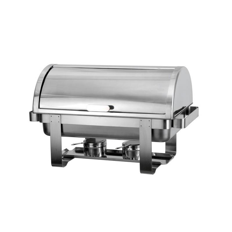 035.0207 Bain Marie Roll Top Chafing Dish Ανοξείδωτο 1x GN 1/1 - 600x340x370mm ( black week προσφορές   chafing dishes  μπαιν μαρί  επαγγελματικός εξοπλισμός   φ