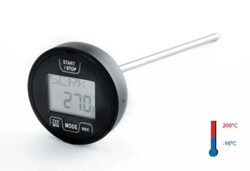 Lacor 62489 Καρφωτό Θερμόμετρο Γενικής Χρήσης με Alarm - Μήκος Ακίδας: 415mm - ( εργαλεία για ψυκτικούς   θερμόμετρα   υγρασιόμετρα  εργαλεία για ψυκτικούς   θερ