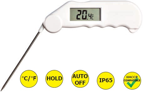 Eti 810-736 Θερμόμετρο Gourmet Καφέ (-49,9°C έως +149,9°C) εργαλεία για ψυκτικούς   θερμόμετρα   υγρασιόμετρα  εργαλεία για ψυκτικούς   θερ