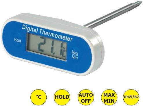 Eti 810-287 Αδιαβροχο Καρφωτο Θερμόμετρο Ακιδας Μήκους 300mm - (-49,9°C έως +149 εργαλεία για ψυκτικούς   θερμόμετρα   υγρασιόμετρα  εργαλεία για ψυκτικούς   θερ