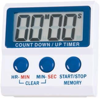 Eti 806-105 Χρονόμετρο που μετρά και αντίστροφα Count up/down timer επαγγελματικός εξοπλισμός   επαγγελματικά σκεύη είδη σερβιρίσματος   εργαλεία κο