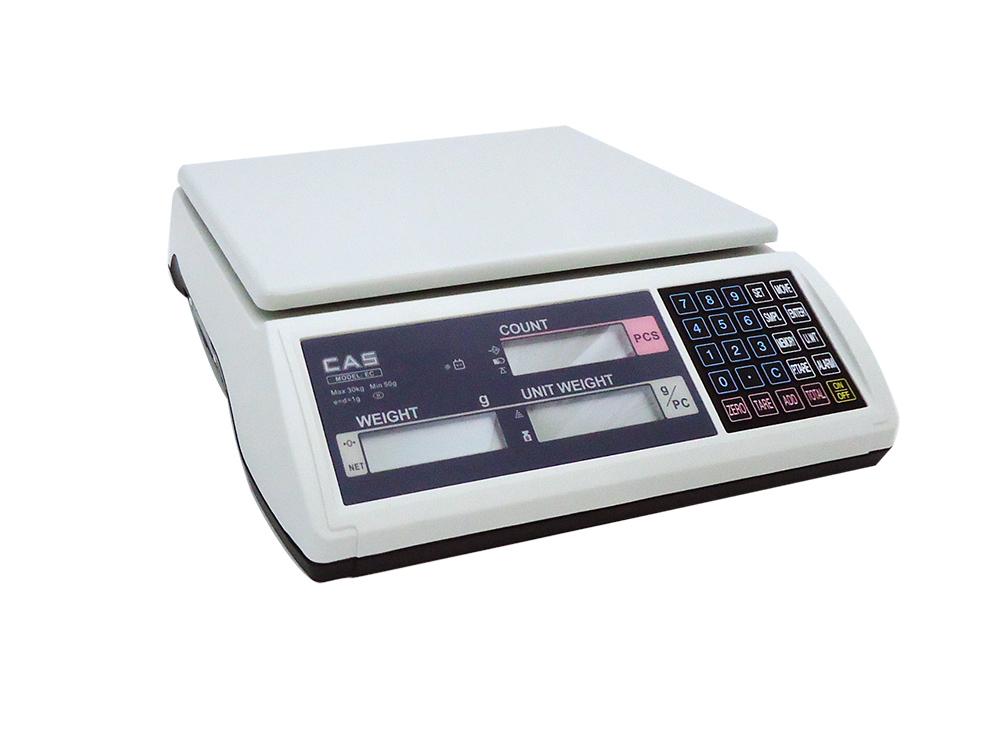 CAS EC-15 Ηλεκτρονική Ζυγαριά Για Μέτρηση Τεχαχίων (Ικανότητα Ζύγισης: 15Kg - Υπ επαγγελματικός εξοπλισμός   ζυγαριές  ζυγοί  επαγγελματικός εξοπλισμός   ζυγαριέ