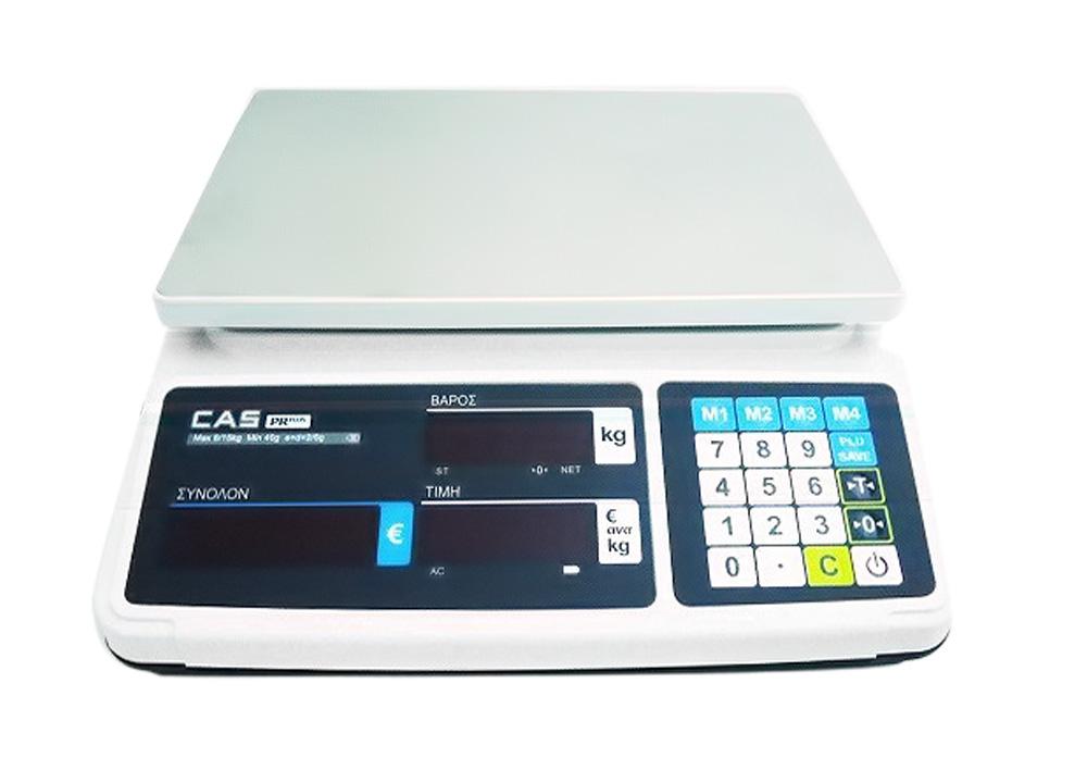 CAS PR-06-B Ζυγαριά Λιανικής & Λαικών Αγορών - Μπαταρίας & Ρεύματος (Ικανότητα Ζ επαγγελματικός εξοπλισμός   ζυγαριές  ζυγοί  επαγγελματικός εξοπλισμός   ζυγαριέ