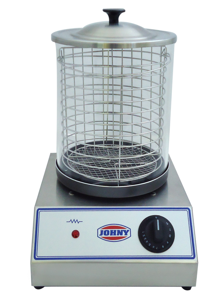 JOHNY AK/1-A Hot Dog Συσκευή Ατμού επαγγελματικός εξοπλισμός   φούρνοι μικροκύματα κρεπιέρες βαφλιέρες φριτέζες   σ