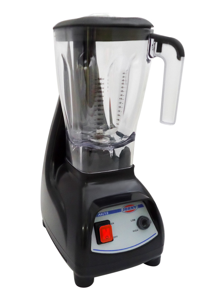 JOHNY AK/12 ECO - Μπλέντερ Μαύρο 1200Watt black week προσφορές   blender  επαγγελματικός εξοπλισμός   μηχανές καφέ   συσκε