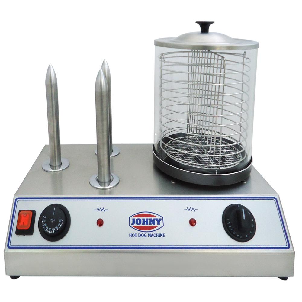 JOHNY AK/1-AP3 Hot Dog Συσκευή Ατμού επαγγελματικός εξοπλισμός   φούρνοι   μικροκύματα   κρεπιέρες   βαφλιέρες   φριτ
