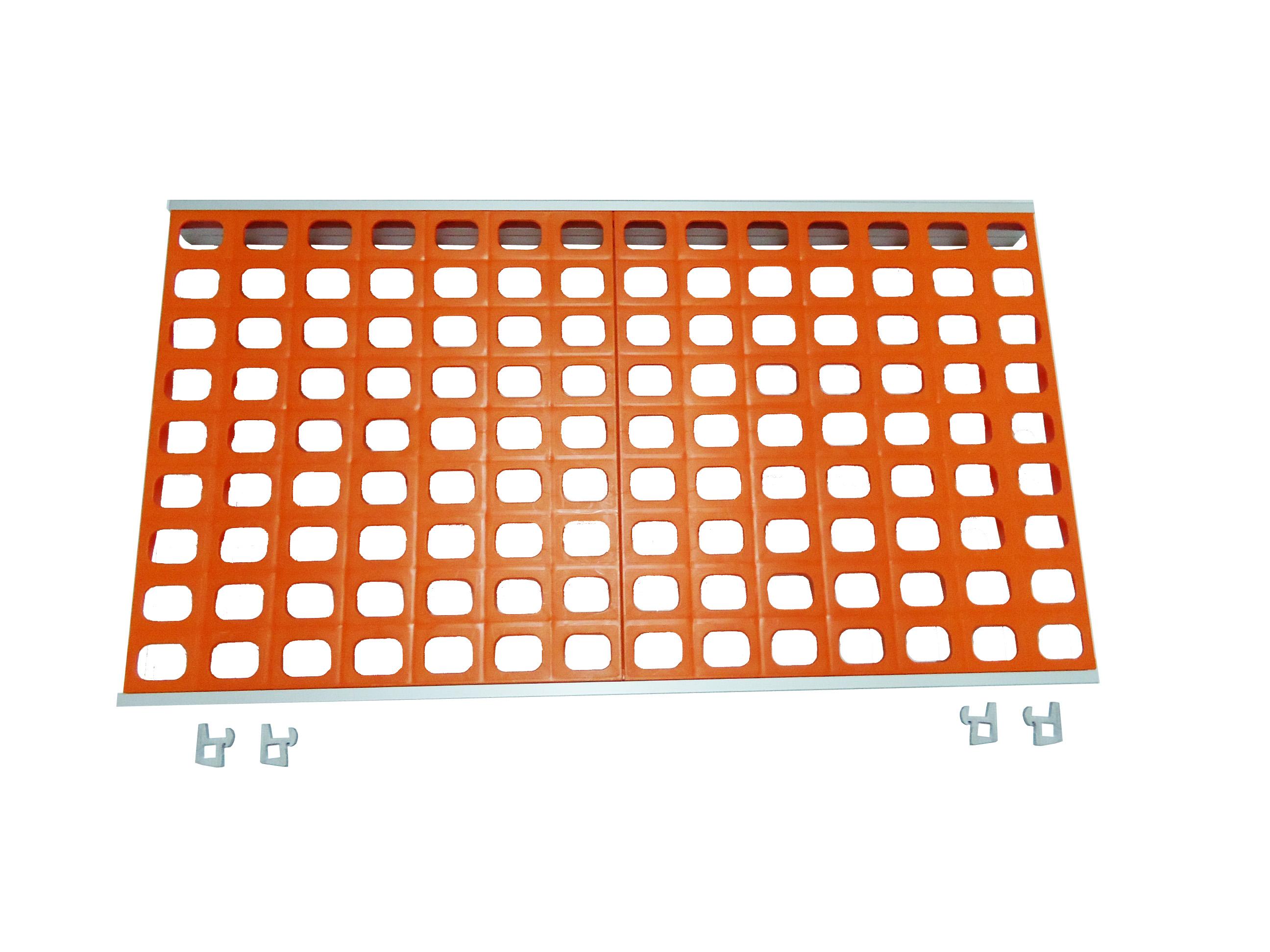 Coolblok KOPA47160C Ραφιέρα - Ράφι Ψυκτικών Θαλάμων Μονό Πολυαιθυλενίου - 1600x4 ψυκτικοί θάλαμοι    ράφια ψυκτικών θαλάμων  ψυκτικοί θάλαμοι    ράφια ψυκτικών θ