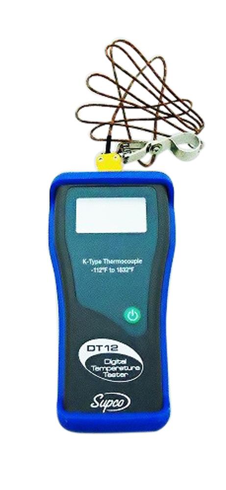 SUPCO DT12 Θερμόμετρο Ηλεκτρονικό - Εύρος Θερμοκρασίας: -80 +1000ºC προσφορές   εργαλεία για ψυκτικούς   θερμόμετρα  εργαλεία για ψυκτικούς   θερμόμ