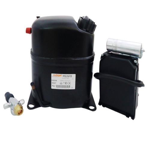 ACC Cubigel MX26FB ( 1HP / 230Volt / R404a) Κομπρεσέρ Ψυγείων Κατάψυξης (ex Elec συμπιεστές   cubigel compressors  ex electrolux  συμπιεστές   cubigel compressor