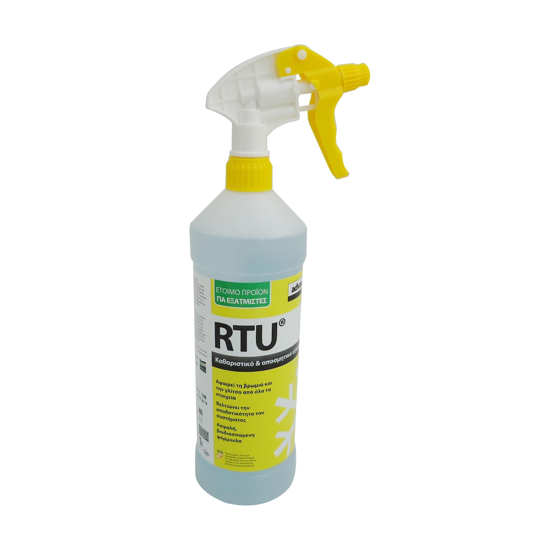 Advanced Engineering RTU Καθαριστικό Για Την Εσωτερική Μονάδα Κλιματιστικου - 1L κλιματισμός    καθαριστικά κλιματιστικών a c  προσφορές   κλιματισμός   υλικά εγ
