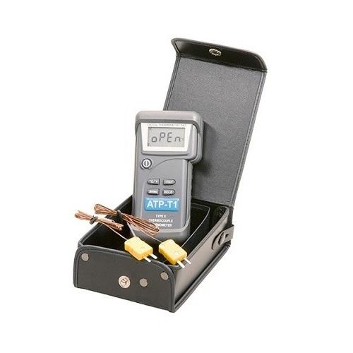 ATP T1 Θερμόμετρο Μέτρησης Δύο Θερμοκρασιών Με 2 Αισθητήρια K (Εύρος Μέτρησης: - εργαλεία για ψυκτικούς   θερμόμετρα   υγρασιόμετρα  εργαλεία για ψυκτικούς   θερ