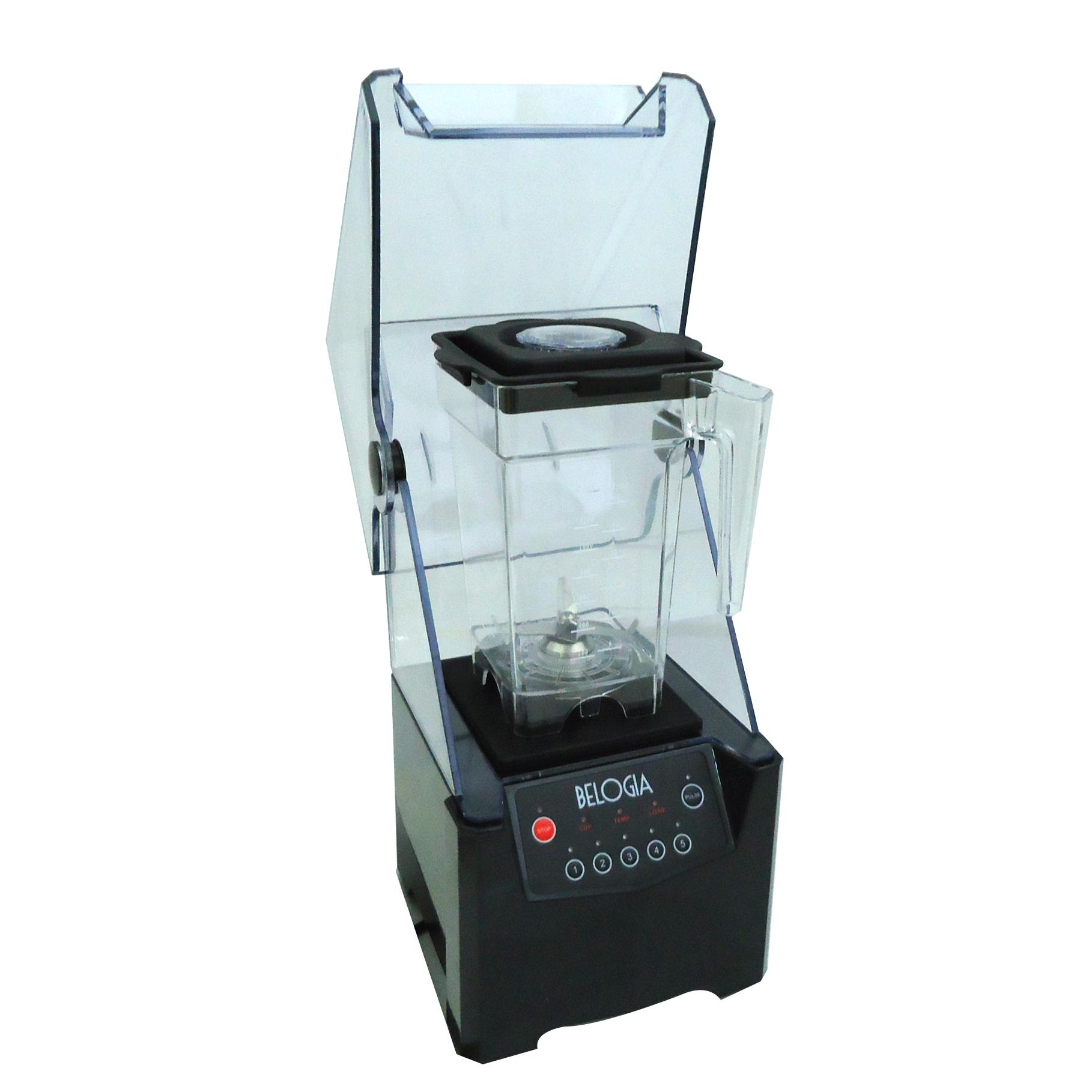 BELOGIA BL-6MC Μπλέντερ Επαγγελματικό 1,5Lit Με Κάλυμμα Ασφαλείας - 800Watt επαγγελματικός εξοπλισμός   μηχανές καφέ   συσκευές για bar  επαγγελματικός εξοπ