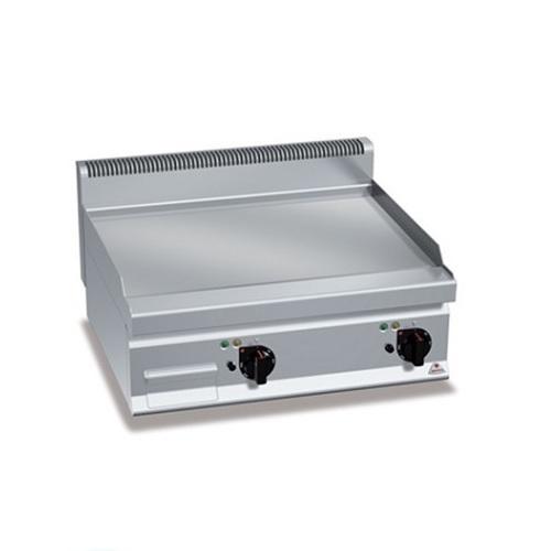 BERTOS E6FL6BP-2 Επιτραπέζιο Πλατό Ηλεκτρικό Με Λεία Πλάκα & Δύο Ζώνες Ψησίματος επαγγελματικός εξοπλισμός   κουζίνες πλατό φριτέζες βραστήρες  επαγγελματικός εξ