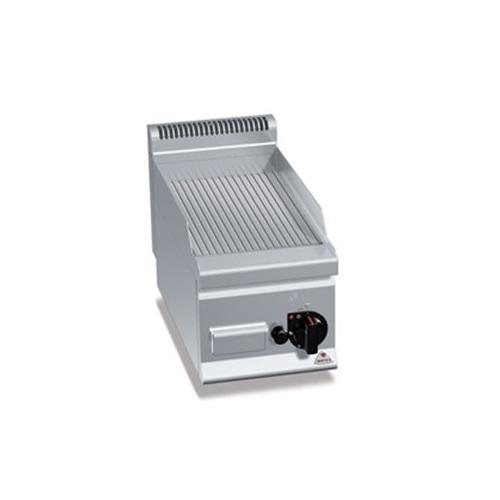 BERTOS G6FR3B Επιτραπέζιο Πλατό Αερίου Με Ραβδωτή Πλάκα & Μία Ζώνη Ψησίματος - 3 επαγγελματικός εξοπλισμός   κουζίνες πλατό φριτέζες βραστήρες  επαγγελματικός εξ