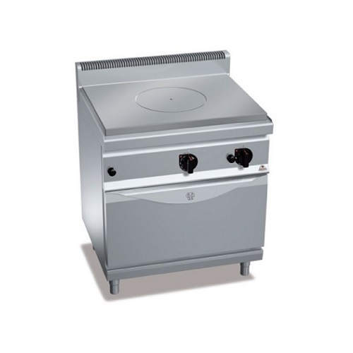 Bertos G7TP+FG TuttaPiastra Επιδαπέδια Πλάκα Ψησίματος Αερίου με Φούρνο - 800x70 επαγγελματικός εξοπλισμός   κουζίνες πλατό φριτέζες βραστήρες  επαγγελματικός εξ