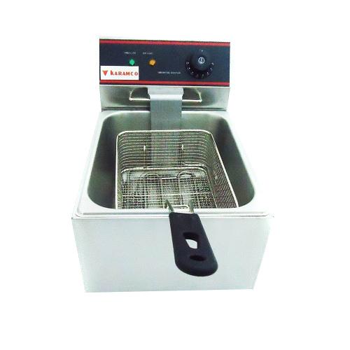 CKEF-1/6 Επαγγελματική Φριτέζα Ηλεκτρική 6Lit - 2,5Kw - 230Volt (Κίνας) επαγγελματικός εξοπλισμός   κουζίνες πλατό φριτέζες βραστήρες   επιτραπέζια φριτ