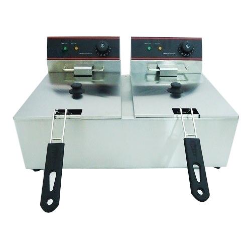 HALDEX-OEM CKEF-(2x) 11L Επαγγελματική Φριτέζα Ηλεκτρική 11+11Lit - 7Kw - 230Vol επαγγελματικός εξοπλισμός   φούρνοι   μικροκύματα   κρεπιέρες   βαφλιέρες   φριτ