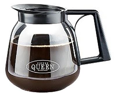 COFFEE QUEEN Κανάτα Γύαλινη για Μηχανή Καφέ Φίλτρου - Χωρητικότητα: 1,8Lit επαγγελματικός εξοπλισμός   μηχανές καφέ   συσκευές για bar   αξεσουάρ για μηχαν