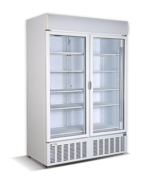 CRYSTAL CR1300 Επαγγελματικά Ψυγεία Αναψυκτικών 1300Lit με 2 Πόρτες Περιστρεφόμε επαγγελματικός εξοπλισμός   επαγγελματικά ψυγεία   αναψυκτικών με 2 πόρτες  επαγ
