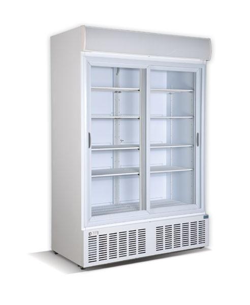 CRYSTAL CRS1200 Επαγγελματικά Ψυγεία Αναψυκτικών 1200Lit με 2 Πόρτες Συρόμενες - home page   δημοφιλή  επαγγελματικός εξοπλισμός   επαγγελματικά ψυγεία   αναψυκτ