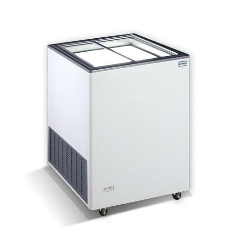 CRYSTAL EKTOR 16 SGL Καταψύκτες με Συρόμενα Τζάμια 160Lit - Ελληνικής Κατασκευής χειμερινά sales   crystal ψυγεία   καταψύκτες  επαγγελματικός εξοπλισμός   επαγγ