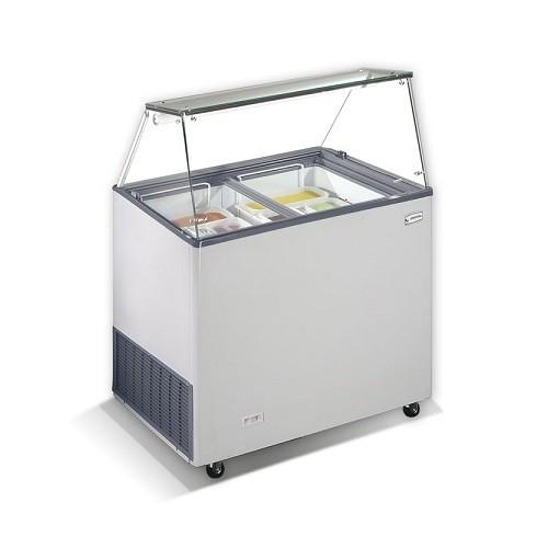 CRYSTAL VENUS VETRINE 26 Επαγγελματικά Ψυγεία Βιτρίνες Παγωτού 6 Γεύσεων - Ελλην επαγγελματικός εξοπλισμός   επαγγελματικά ψυγεία   βιτρίνες παγωτού  επαγγελματι