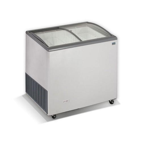 CRYSTAL VENUS 26 SGL Καταψύκτες με Κουρμπαριστά Συρόμενα Τζάμια 240Lit - Ελληνικ επαγγελματικός εξοπλισμός   επαγγελματικά ψυγεία   ψυγεία   καταψύκτες crystal