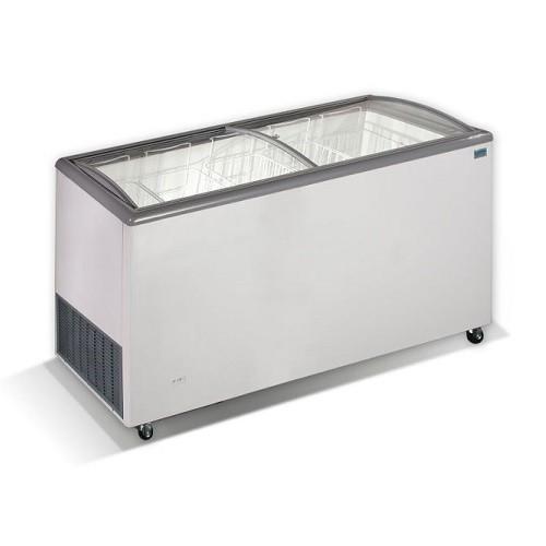 CRYSTAL VENUS 56 SGL Καταψύκτες με Κουρμπαριστά Συρόμενα Τζάμια 540Lit - Ελληνικ επαγγελματικός εξοπλισμός   επαγγελματικά ψυγεία   ψυγεία   καταψύκτες crystal